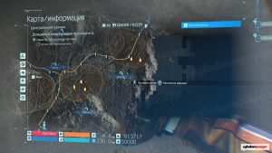 Инженер на карте