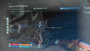 Карта Озёрного узла