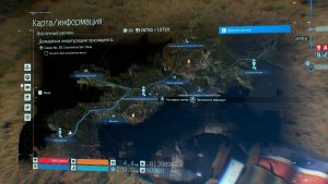 Карта Пункта к северу от Столичного узла