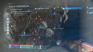 Старейшина на карте